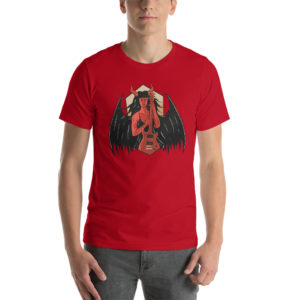 T-shirt Demon With Guitar
