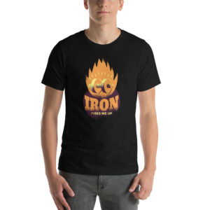 T-shirt Iron Fire