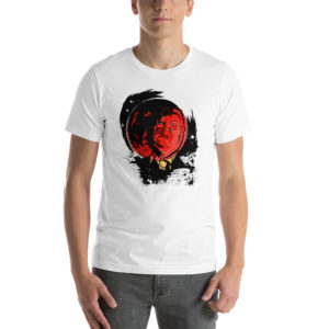 T-shirt Red Moon Trump