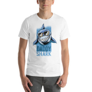 T-shirt Daddy Shark