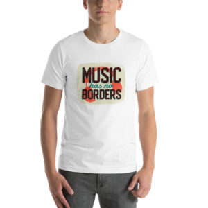 T-shirt Music Has No Borders