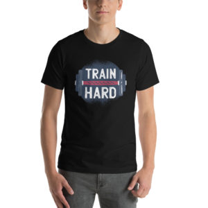 T-shirt Train Hard