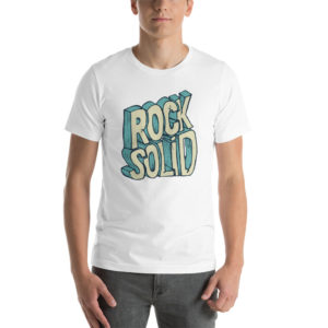 T-shirt Rock Solid