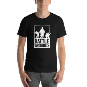 T-shirt Battle Grounds
