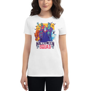 Women's T-shirt Halloween Squad