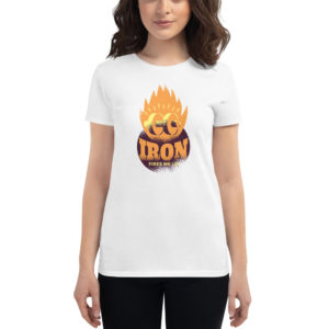 Women's T-shirt Iron