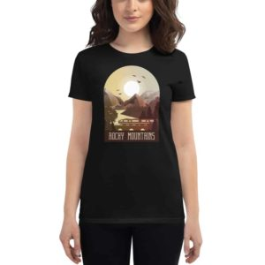 Women's T-shirt Rocky Mountains